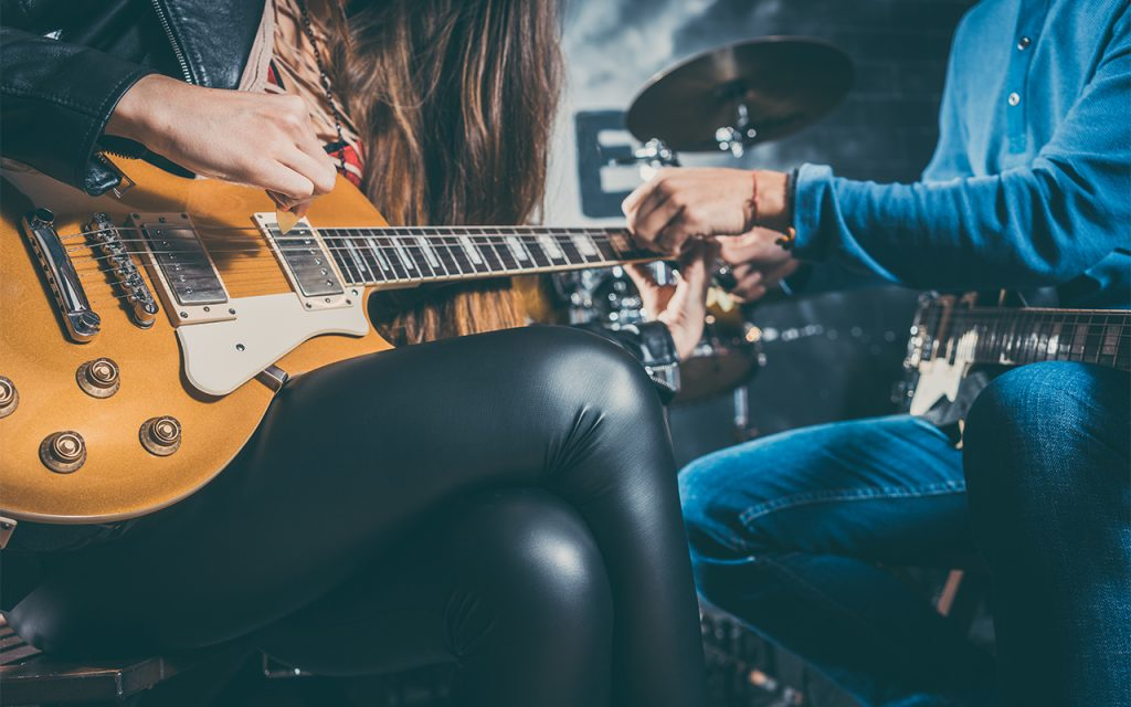 Online Private Guitar Lessons